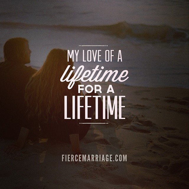 """A love of a lifetime"