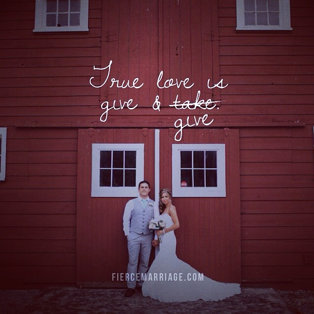 """""""True love is give & give more than give & take."""" -Ryan Frederick"""