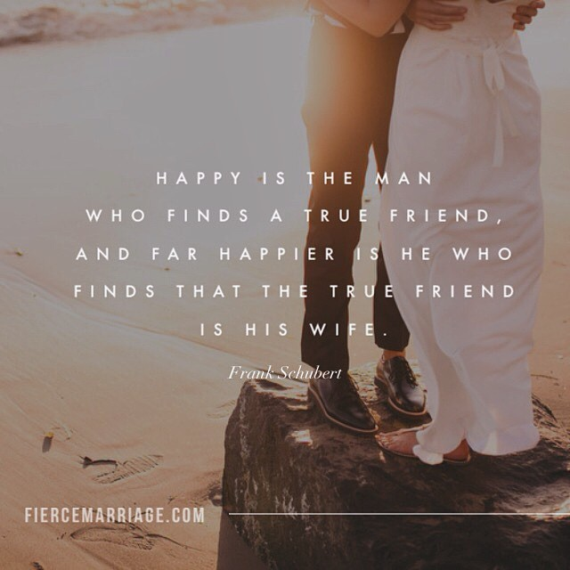 """Happy is the man who finds a true friend"