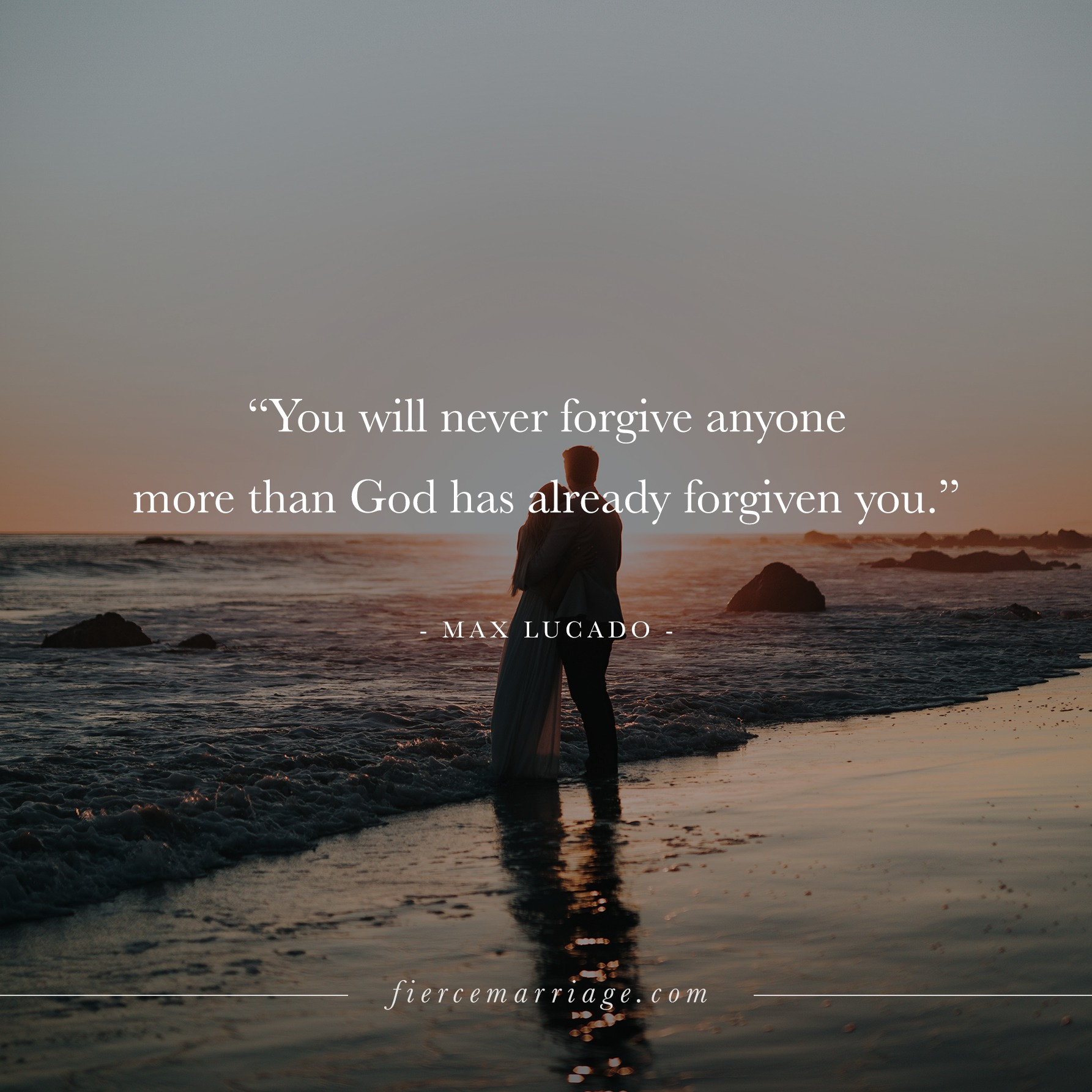 You Will Never Forgive Anyone More Than God Has Already Forgiven You